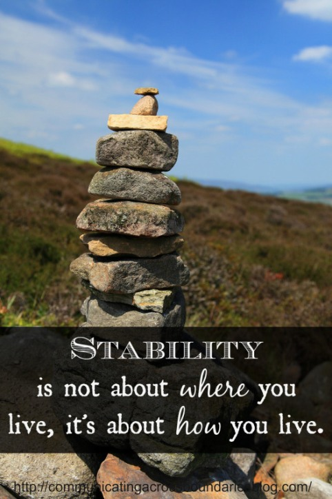 stability with quote